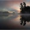 Adirondacks Lake Rondaxe Sunrise 1 July 2016