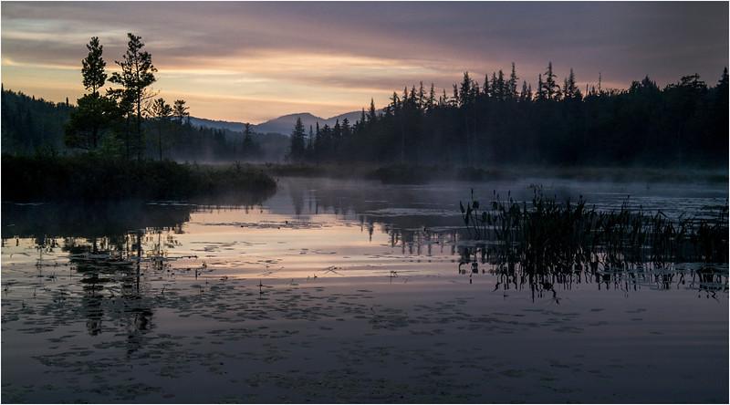 Adirondacks Forked Lake Sunrise North Bay Inlet 3 August 2013