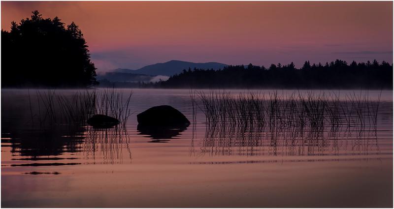 Adirondacks Forked Lake Morning Mist 12 July 2017