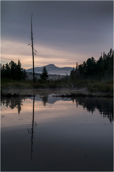 Adirondacks Forked Lake Sunrise North Bay Inlet Vertical 2 August 2013