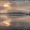 Adirondacks Rollins Pond Morning Mist 32 July 2019