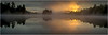 Adirondacks Lake Rondaxe Sunrise 9 July 2016