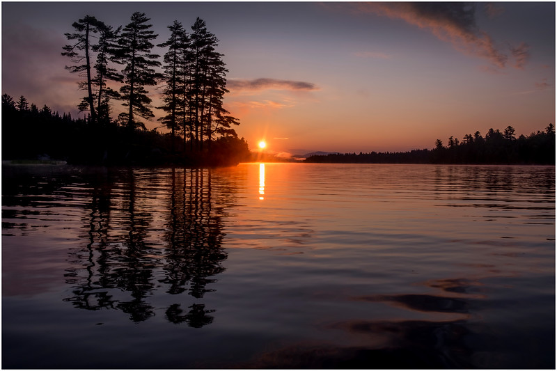 Adirondacks Forked Lake Morning Mist 16 July 2017