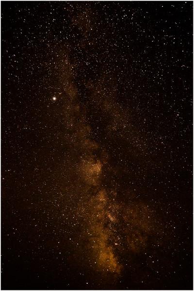 Adirondacks Round Lake Whitney Wilderness Milky Way 2 July 2016