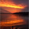 Adirondacks August 2008 Raquette Lake Golden Beach Sunset 4