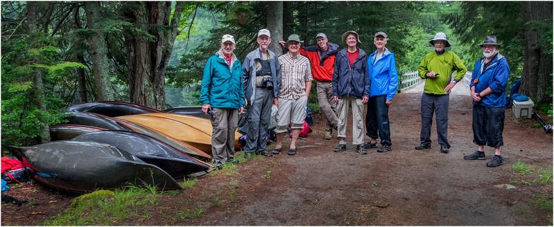 Adirondacks Newcomb Lake LEAG Members with Hornbecks 1 July 2017