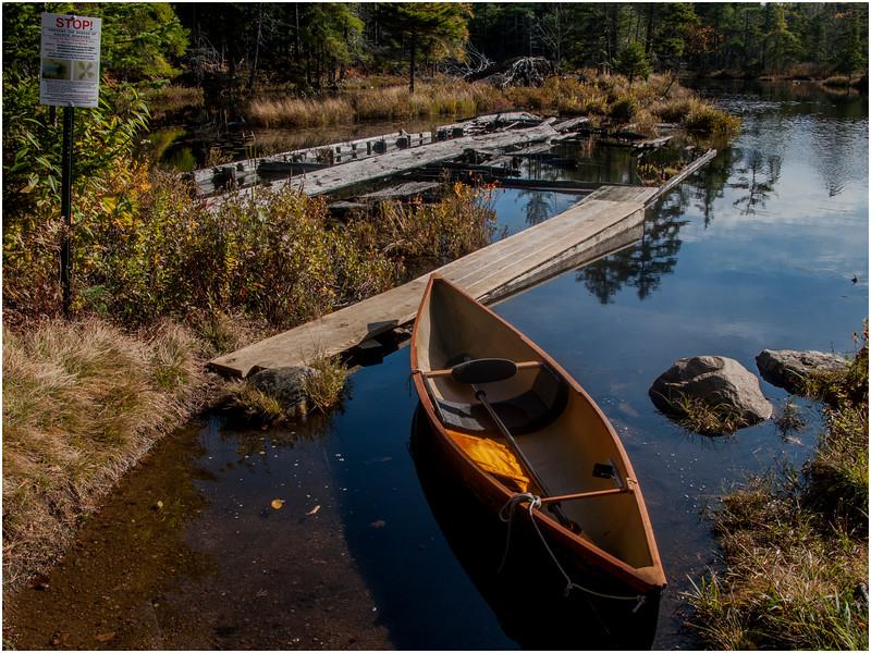 Adirondacks Marion River Carry at Utowana Lake October 2009 2009