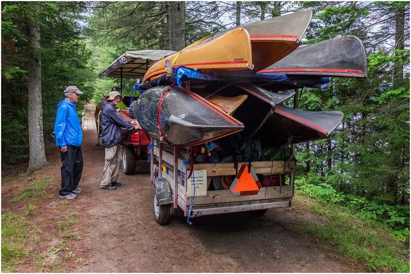 Adirondacks Newcomb Lake Horse Transportation 2 July 2017