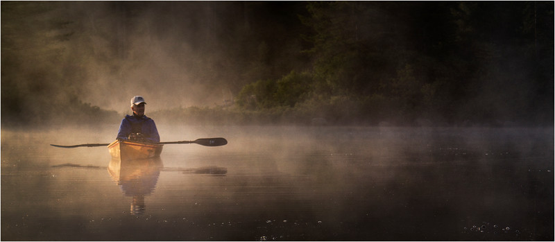 Adirondacks Forked Lake July 2015 Morning Mist After Sunrise Tom Curley 2