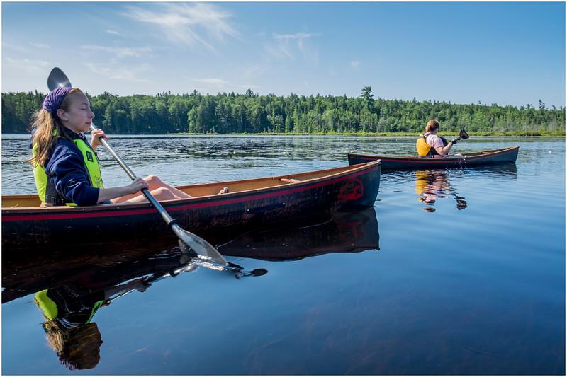 Adirondacks Forked Lake Jenna Kim into the Wetlands 3 July 2017