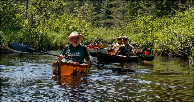 Adirondacks Forked Lake July 2015 Brandreth Inlet Hornbeck Flotilla Mckibben, Way, Davidson and Curley in the Distance