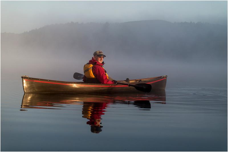 Adirondacks Forked Lake July 2015 Morning Mist After Sunrise Rick Rosen 5