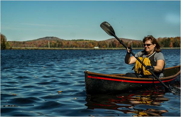Adirondacks Lake Abanakee October 2015 Kim 3