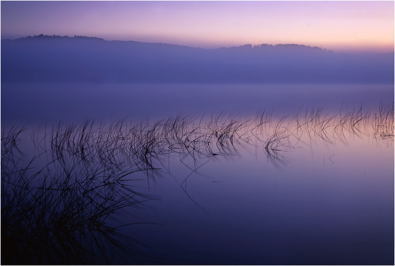 45 Adirondacks Lake Lila Sunrise 6 August 1997