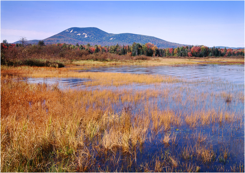 45 Adirondacks Blue Mountain from Rock Lake October 1999
