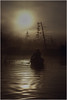 Adirondacks Forked Lake Morning Paddler 3 August 1979