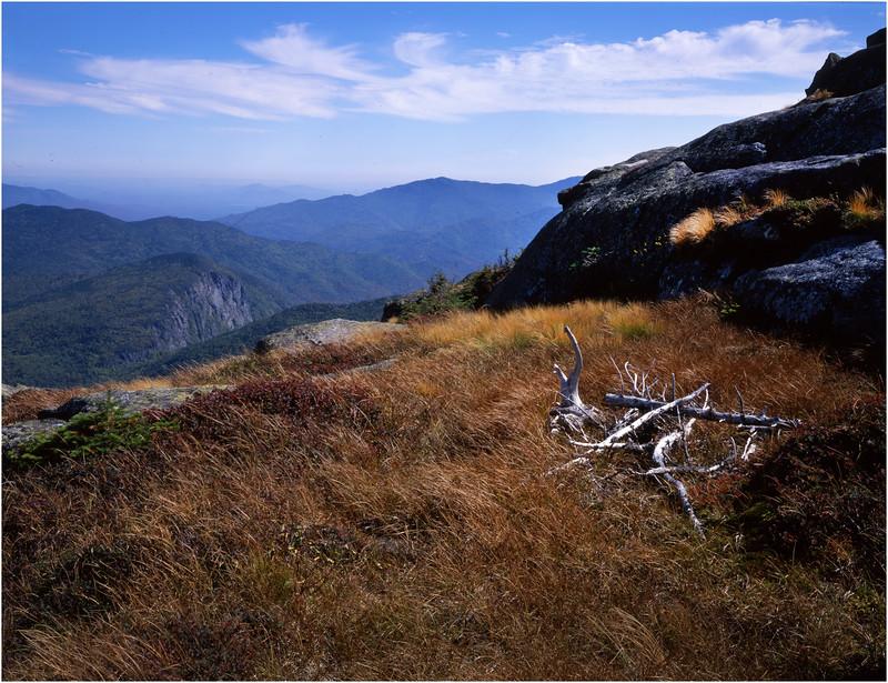 45 Adirondacks Algonquin Peak View SW Wallface Mt September 1997