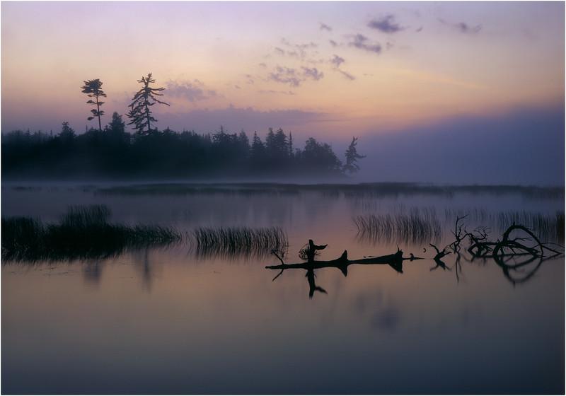 Adirondacks Classic 4x5 Lake Lila Morning  circa 1996
