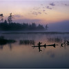 Adirondacks Classic 4x5 Lake Lila Morning  circa 1996