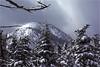Adirondacks Mt Colden View North Summit March 1979