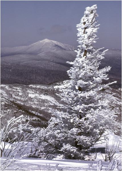 Adirondacks Cascade Peak View of Whiteface Mt 2 January 1982