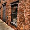 Albany NY Brick Building and Sidewalk 2008