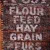 McCoy Feed Brick Exterior 2 Chateaugay NY July 2013