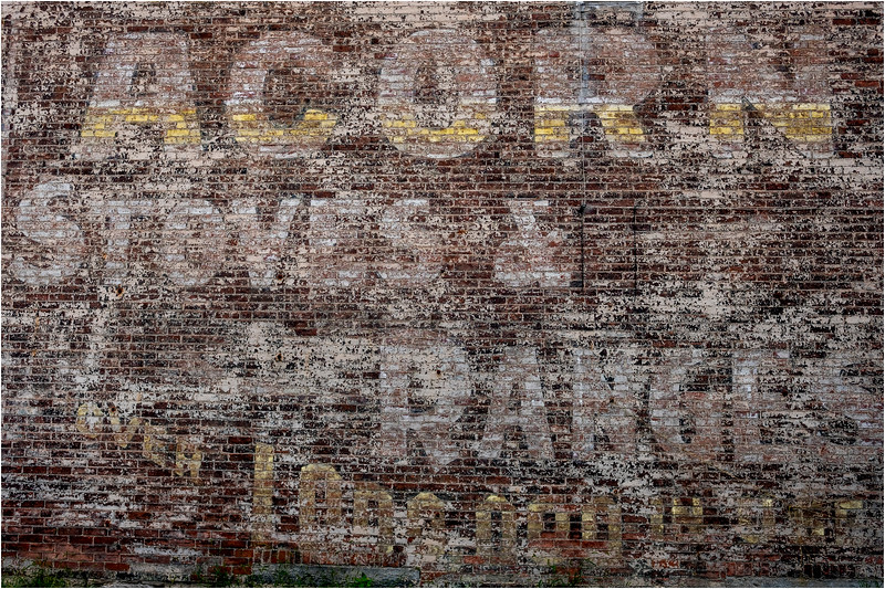 Fort Edward NY Brick Advertising 6 September 2018