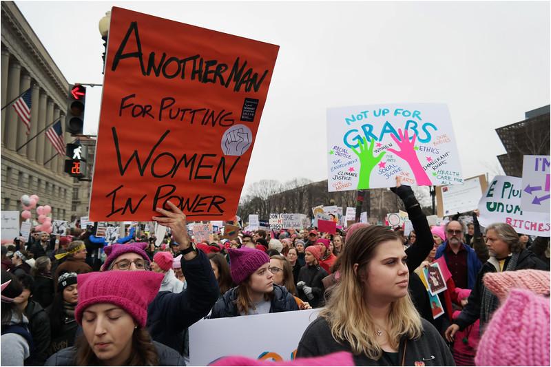 A Washington DC Womens March 152 January 21 2017