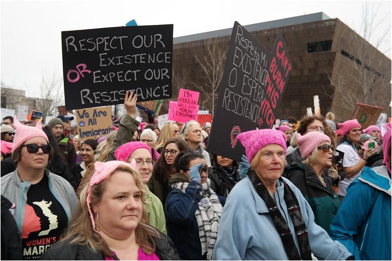 A Washington DC Womens March 187 January 22 2017
