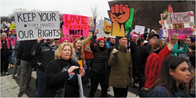 A Washington DC Womens March 158 January 21 2017