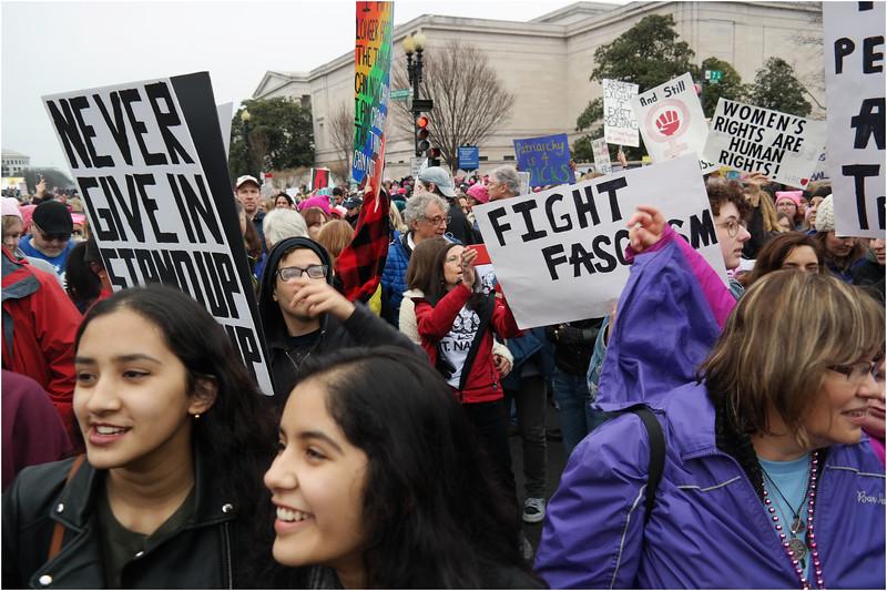 A Washington DC Womens March 32 January 21 2017