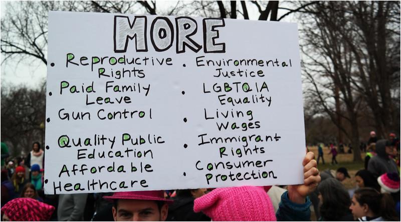 A Washington DC Womens March 107 January 21 2017