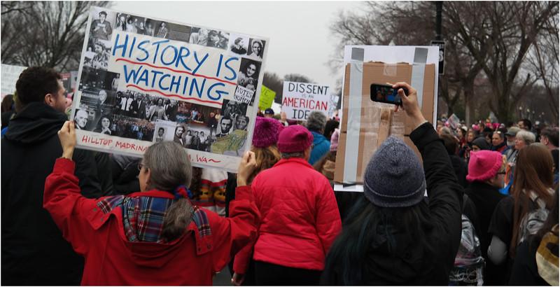 A Washington DC Womens March 122 January 21 2017