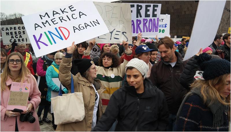 A Washington DC Womens March 198 January 22 2017