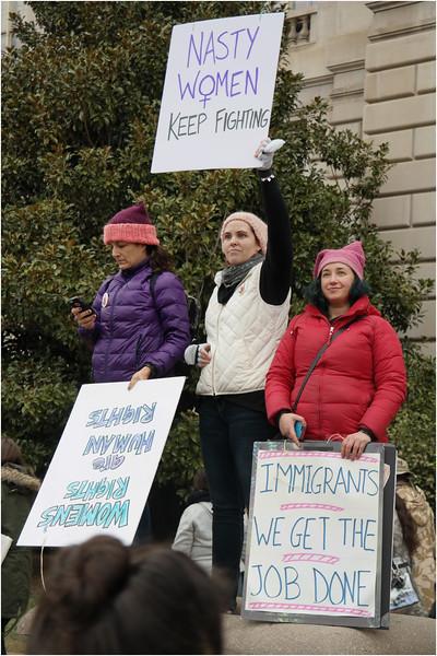 A Washington DC Womens March 53 January 21 2017