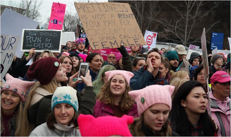 A Washington DC Womens March 223 January 22 2017
