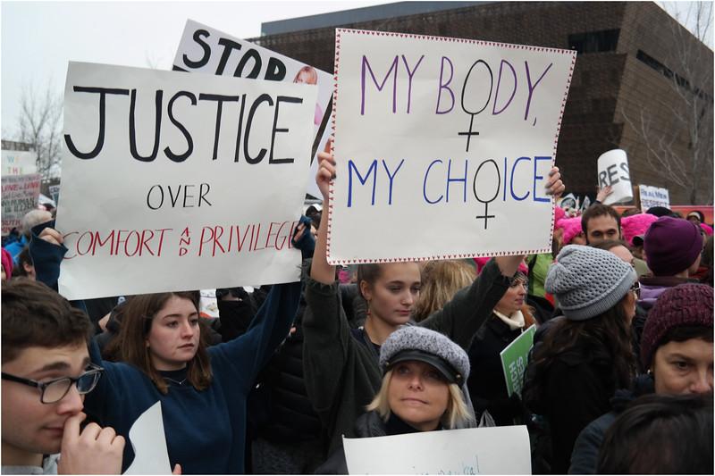 A Washington DC Womens March 193 January 22 2017