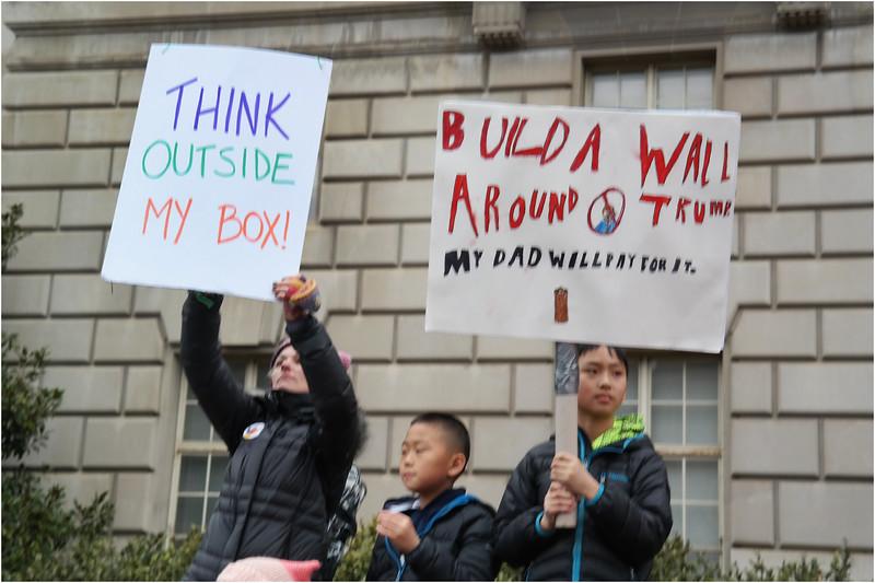 A Washington DC Womens March 54 January 21 2017