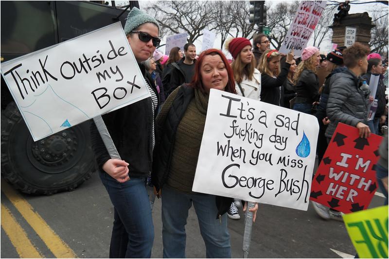 A Washington DC Womens March 124 January 21 2017