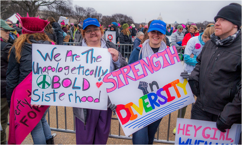A Washington DC Womens March 303 January 21 2017