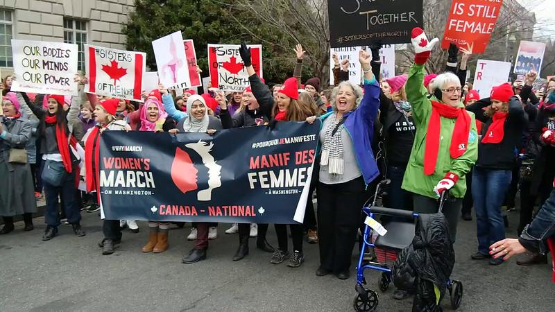 A Washington DC Womens March 48 January 21 2017