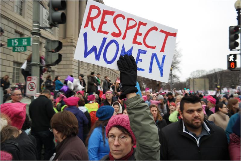 A Washington DC Womens March 133 January 21 2017