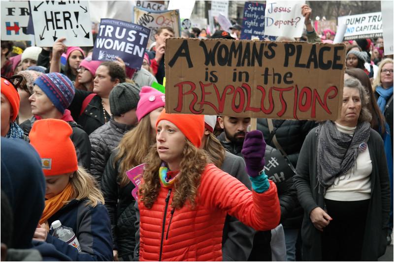 A Washington DC Womens March 260 January 21 2017