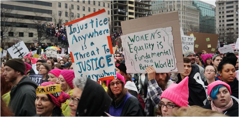 A Washington DC Womens March 225 January 22 2017