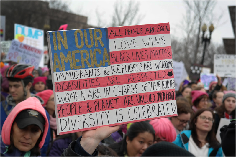 A Washington DC Womens March 216 January 22 2017