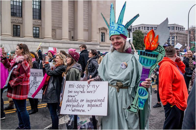 A Washington DC Womens March 279 January 21 2017