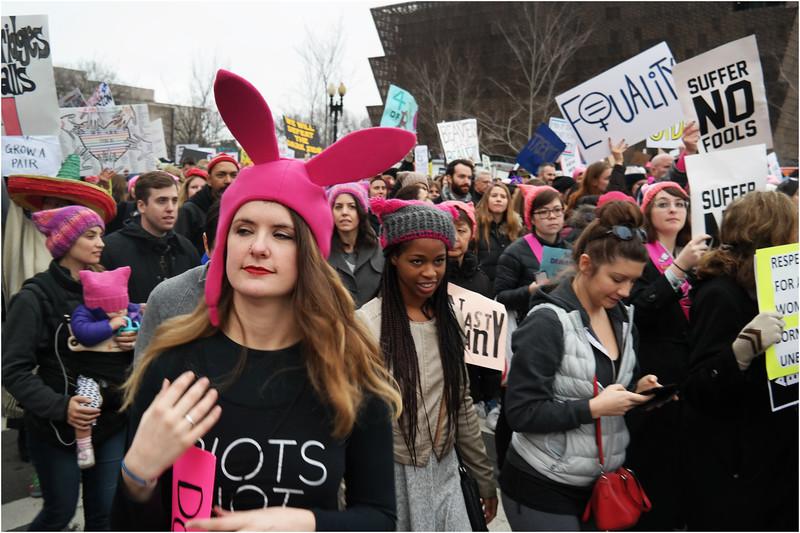 A Washington DC Womens March 200 January 22 2017