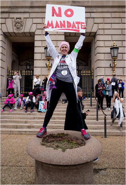 A Washington DC Womens March 326 January 21 2017