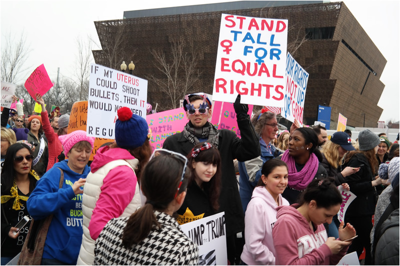A Washington DC Womens March 106 January 21 2017